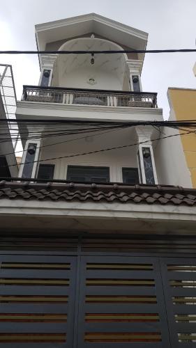 Bán nhà 3 tầng hẻm 1 sẹc đường Nguyễn Văn Quá, Quận 12, hướng cửa Đông Nam, sổ hồng chính chủ