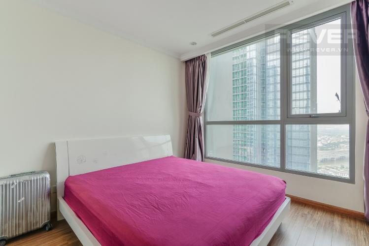 Phòng Ngủ 1 Căn hộ Vinhomes Central Park 3 phòng ngủ tầng cao L2 view sông