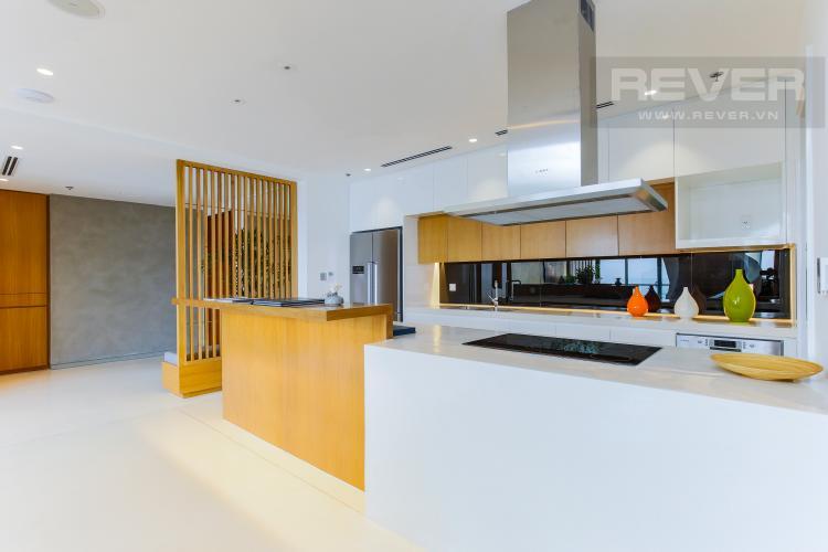 Phòng Bếp Penthouse City Garden tầng cao B2 thiết kế sang trọng, nội thất cao cấp