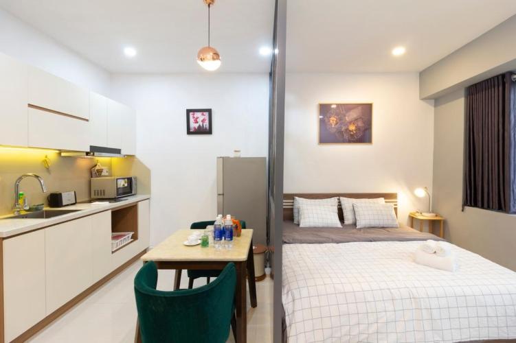 Cho thuê căn hộ 1 phòng ngủ đường Ngô Đức Kế, Quận 1, diện tích 45m2, đầy đủ nội thất