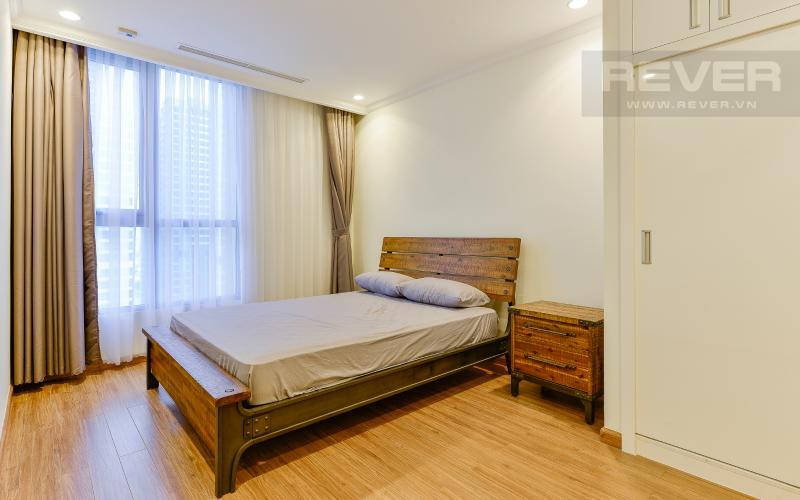 phòng ngủ 3 Căn góc Vinhomes Central Park tầng cao Central 3 đầy đủ tiện nghi