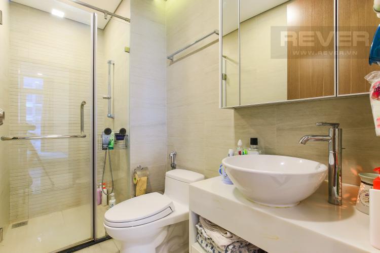 Phòng Tắm 1 Căn hộ Vinhomes Central Park tầng trung Park 5 view trực diện sông