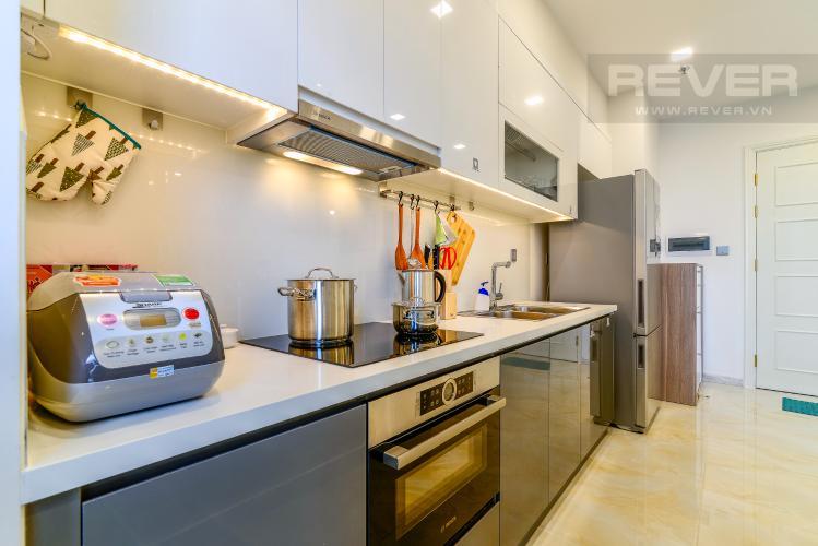 Nhà Bếp Cho thuê căn hộ Vinhomes Golden River 2PN đầy đủ nội thất, view sông Sài Gòn