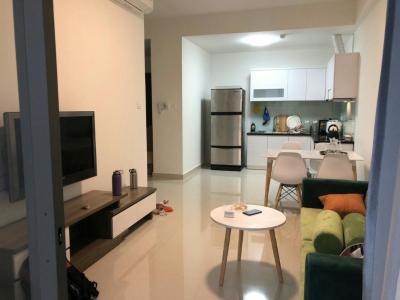 Cho thuê căn hộ The Sun Avenue 2PN, block 2, đầy đủ nội thất, hướng cửa Đông Nam