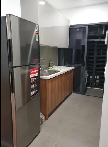 Phòng bếp căn hộ Eco Green Saigon Căn hộ 3 phòng ngủ Eco Green Saigon thiết kế hiện đại đầy đủ nội thất