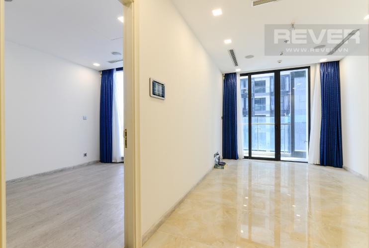 Phòng Khách Cho thuê căn hộ Vinhomes Golden River 1PN, tháp The Aqua 1, view sông Sài Gòn