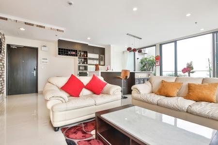 Penthouse Masteri Thảo Điền 3 phòng ngủ thiết kế hiện đại, sang trọng, đầy đủ tiện nghi