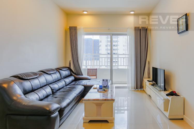 Phòng Khách Căn hộ Sunrise City 2 phòng ngủ tầng cao W4 view hồ bơi