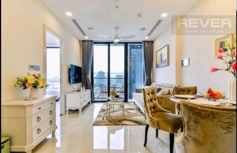 Bán căn hộ Vinhomes Golden River 2PN, tháp The Aqua 4, đầy đủ nội thất, view sông và Bitexco