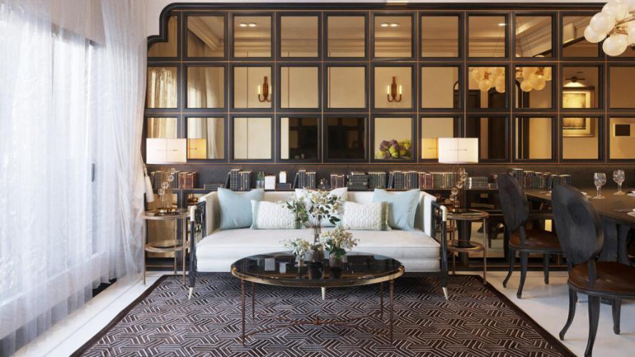 Nhà mẫu Picity High Park, Quận 12 Căn hộ Picity High Park tầng trung, 3 phòng ngủ, view thoáng mát