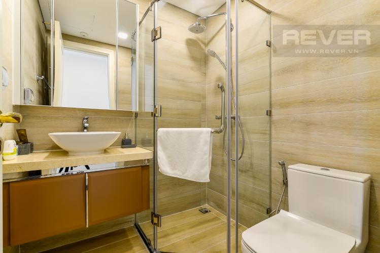 Phòng Tắm 1 Căn hộ Vinhomes Golden River 2PN đầy đủ nội thất view đẹp