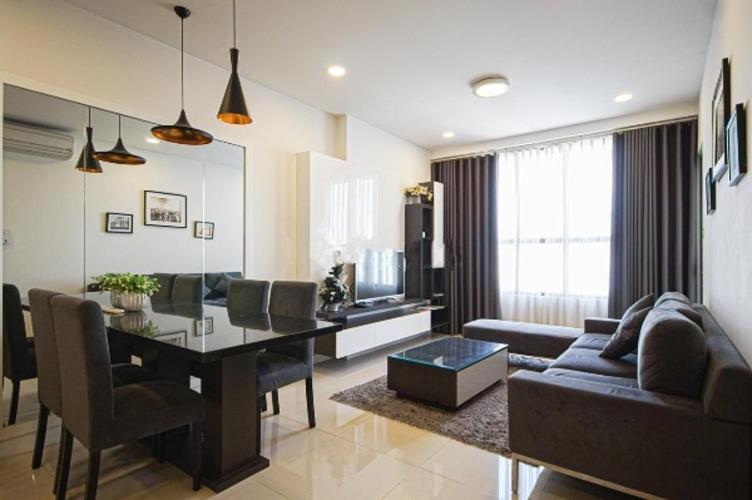 Căn hộ Icon 56 nội thất đầy đủ 3 phòng ngủ, view thành phố.
