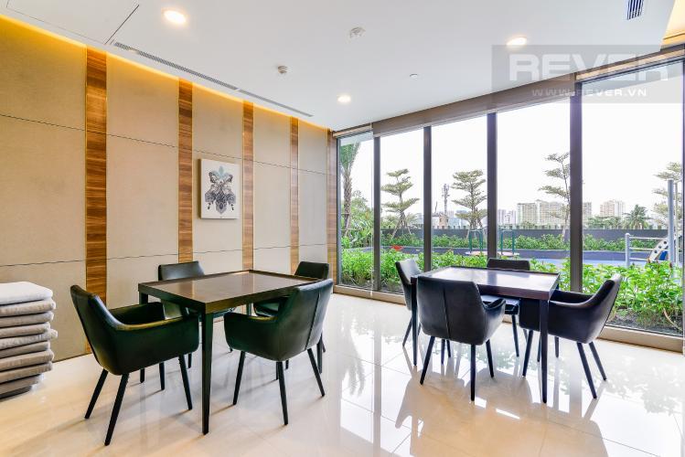 Phòng Giải Trí Căn hộ Nassim Thảo Điền tầng trung, tháp A, 2 phòng ngủ, view sông