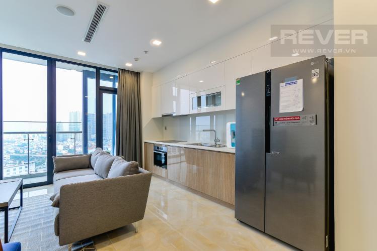 Nhà Bếp Cho thuê căn hộ Vinhomes Golden River tầng cao 3PN view sông