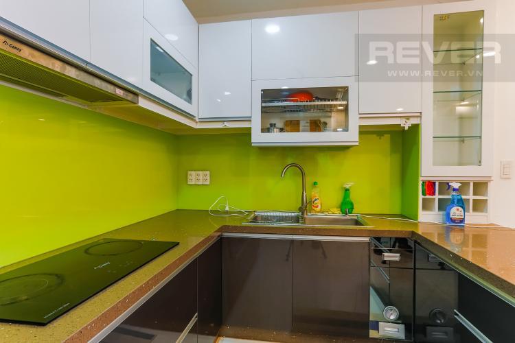 Phòng Bếp Căn hộ Sunrise City 1 phòng ngủ tầng thấp X1 nội thất đơn giản