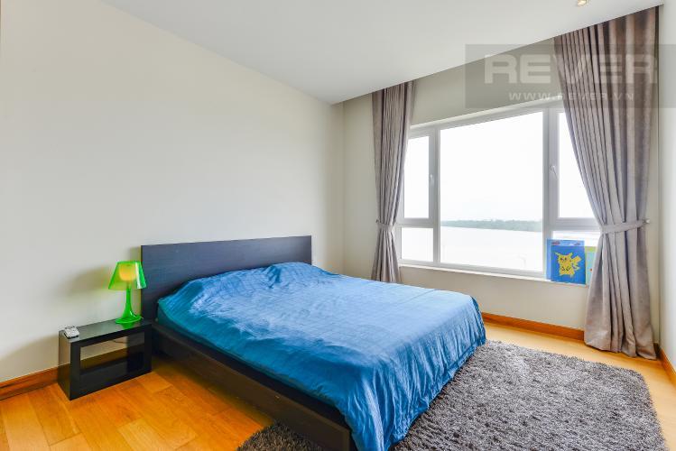 Phòng ngủ 2 Căn hộ Diamond Island - Đảo kim cương, tầng thấp, tháp Brilliant, 2 phòng ngủ, view sông