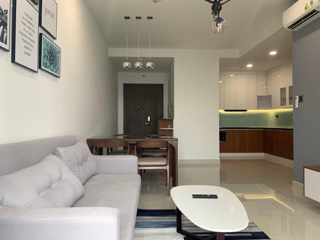 2 Cho thuê căn hộ Saigon Royal 2PN, diện tích 85m2, đầy đủ nội thất, ban công Đông Bắc