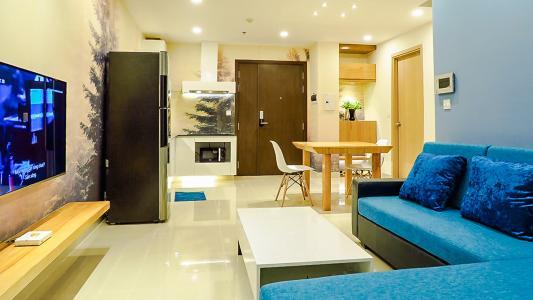 Căn hộ RiverGate Residence tầng cao, 2PN, đầy đủ nội thất, view kênh Bến Nghé