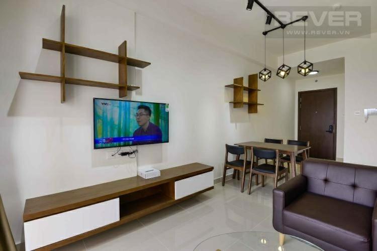 Phòng khách The Sun Avenue, Quận 2 Căn hộ The Sun Avenue nội thất đầy đủ, view thành phố.
