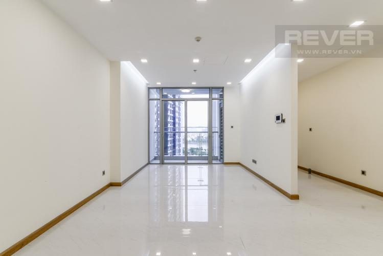Phòng Khách Căn hộ Vinhomes Central Park 2 phòng ngủ tầng thấp P7 nhà trống