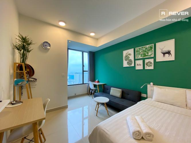 Cho thuê căn hộ RiverGate Residence 1PN, tầng 19, đầy đủ nội thất, view Quận 4