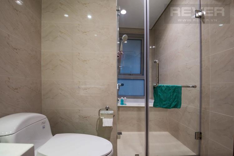 Toilet 1 Bán căn hộ Vinhomes Central Park 2 phòng ngủ tầng thấp tháp C2, đầy đủ nội thất cao cấp