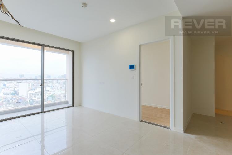 Phòng Khách Căn hộ Masteri Millennium tầng trung, block A, 2 phòng ngủ, view sông
