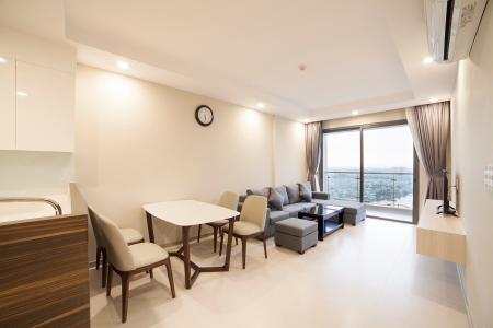 Căn hộ The Gold View 2 phòng ngủ tầng cao A1 đầy đủ tiện nghi