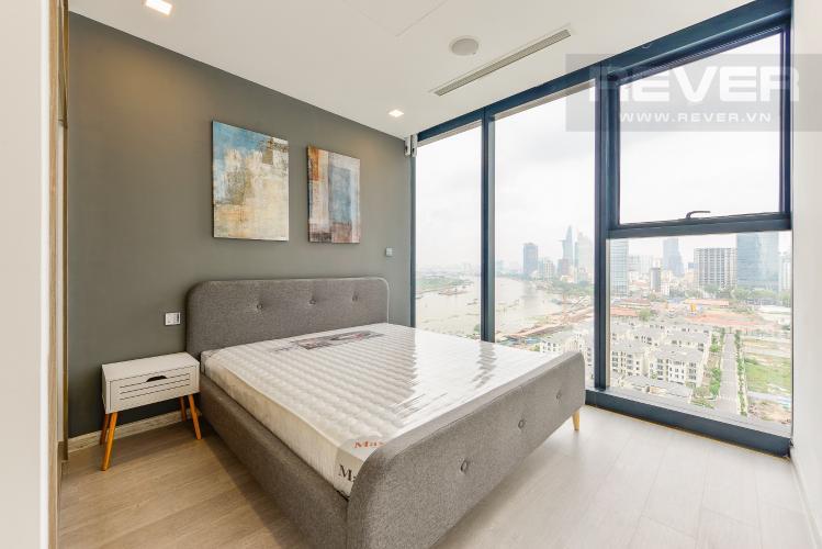 Phòng ngủ Căn hộ Vinhomes Golden River 2 phòng ngủ tầng trung A2 view sông