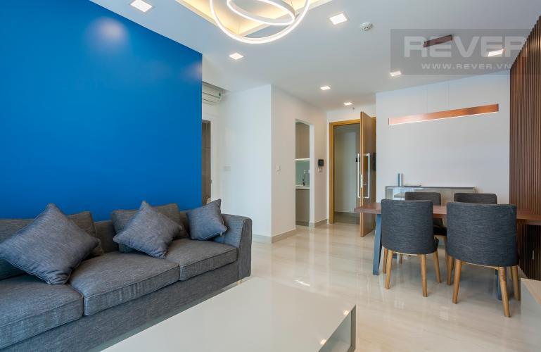Tổng Quan Căn hộ Vista Verde 1 phòng ngủ tầng cao T2 nội thất đầy đủ