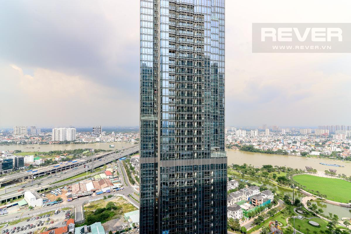 _DSC3983 Bán căn hộ Vinhomes Central Park 1PN, tháp Landmark 3, diện tích 54m2, đầy đủ nội thất, view sông