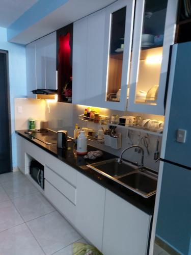 Phòng bếp căn hộ chung cư LDG Sky, Dĩ An Căn hộ chung cư LDG Sky ban công Đông Nam, view thành phố tuyệt đẹp.