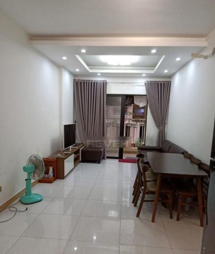 Căn hộ Era Town đầy đủ nội thất, view nội khu thoáng mát.