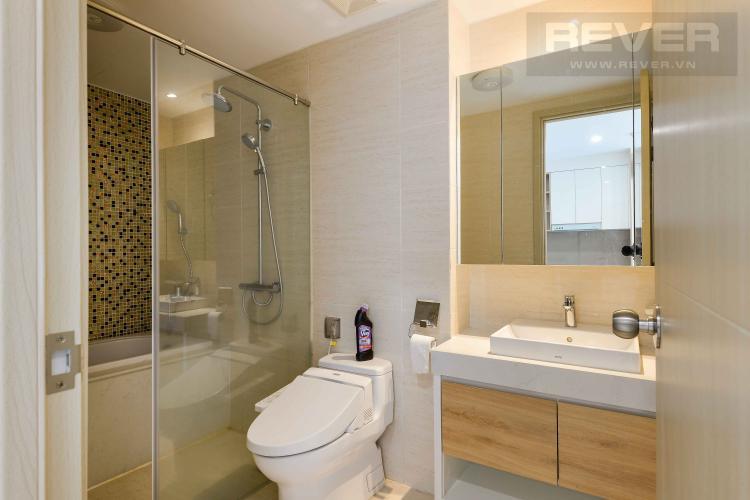 Toilet Cho thuê căn hộ New City Thủ Thiêm 1PN, tháp Bali, tầng thấp, đầy đủ nội thất