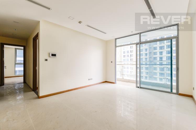 Phòng khách Căn góc Vinhomes Central Park 3 phòng ngủ tầng trung Park 5
