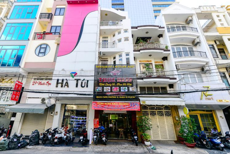 Bán nhà hẻm 283 đường Cách Mạng Tháng 8, 5 tầng, 5PN, diện tích 64m2, đầy đủ nội thất