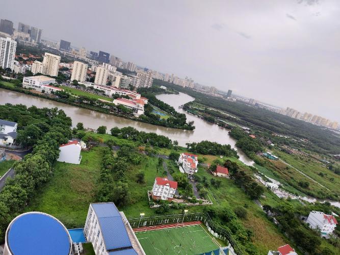 View Saigon South Residence Căn hộ Saigon South Residence tầng cao, đón view sông mát mẻ.