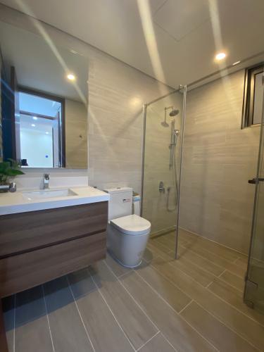 Phòng tắm Phú Mỹ Hưng Midtown Căn hộ Phú Mỹ Hưng Midtown nội thất đầy đủ, view nội khu.