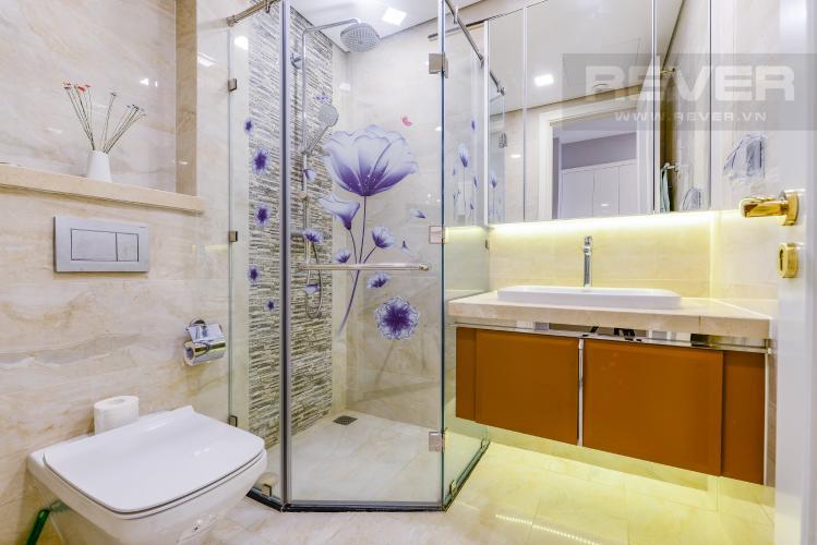 Phòng tắm Bán và cho thuê căn hộ Vinhomes Golden River 1PN đầy đủ nội thất view sông