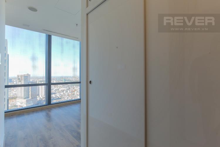 Phòng Ngủ 1 Căn hộ Vinhomes Central Park 2PN, tầng cao, tháp Landmark 81, view sông