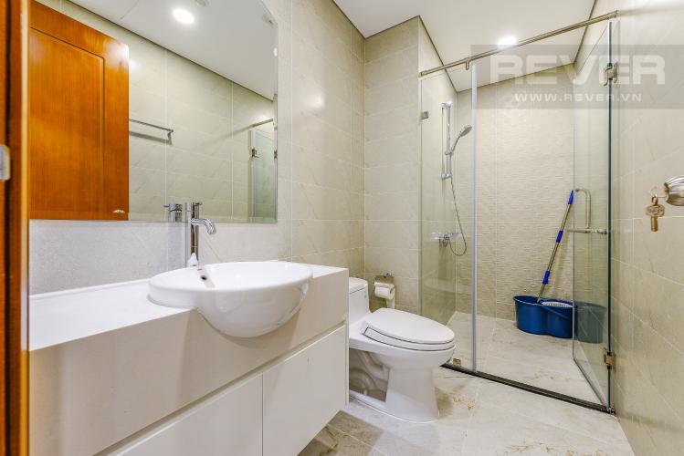 Phòng tắm Căn hộ Vinhomes Central Park 1 phòng ngủ tầng cao L6 nhà trống