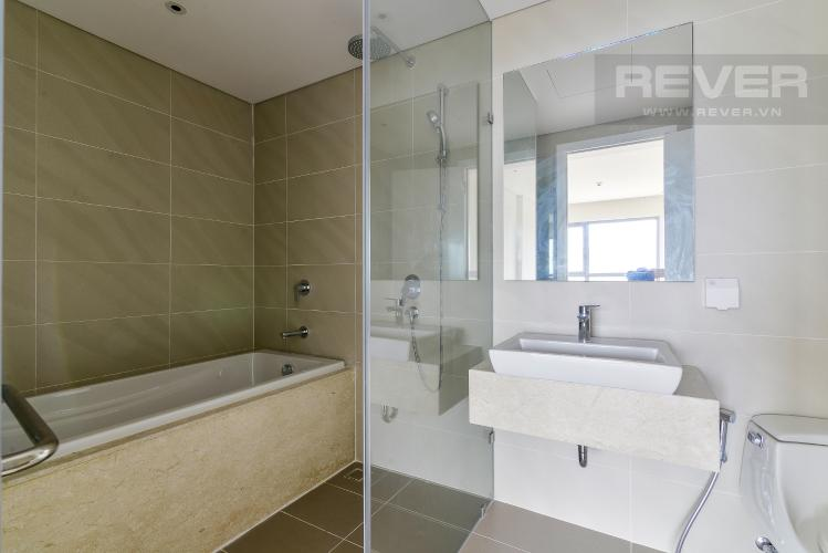 Phòng Tắm 1 Cho thuê căn hộ Diamond Island - Đảo Kim Cương 3PN, không có nội thất, view sông và Landmark 81