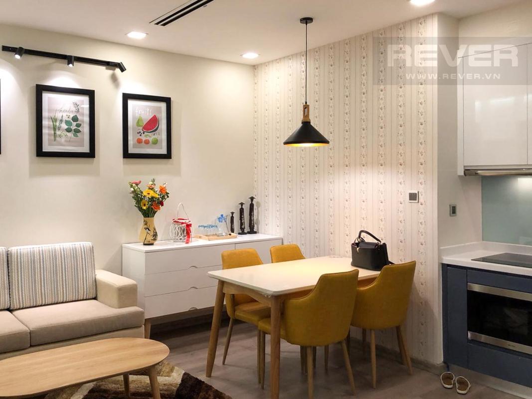 ab3413cb3644d01a8955 Bán căn hộ 1 phòng ngủ Vinhomes Central Park, tháp Park 1, đầy đủ nội thất