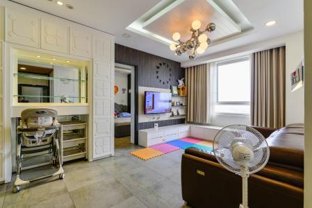 Bán căn hộ Tropic Garden 3 phòng ngủ tầng cao, đầy đủ nội thất, không gian yên tĩnh, mát mẻ