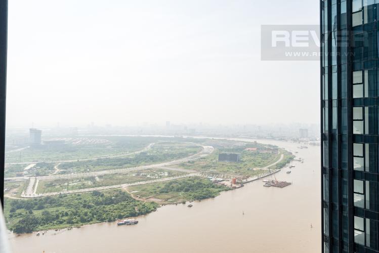 View Căn officetel Vinhomes Golden River 1PN đầy đủ nội thất, view sông Sài Gòn