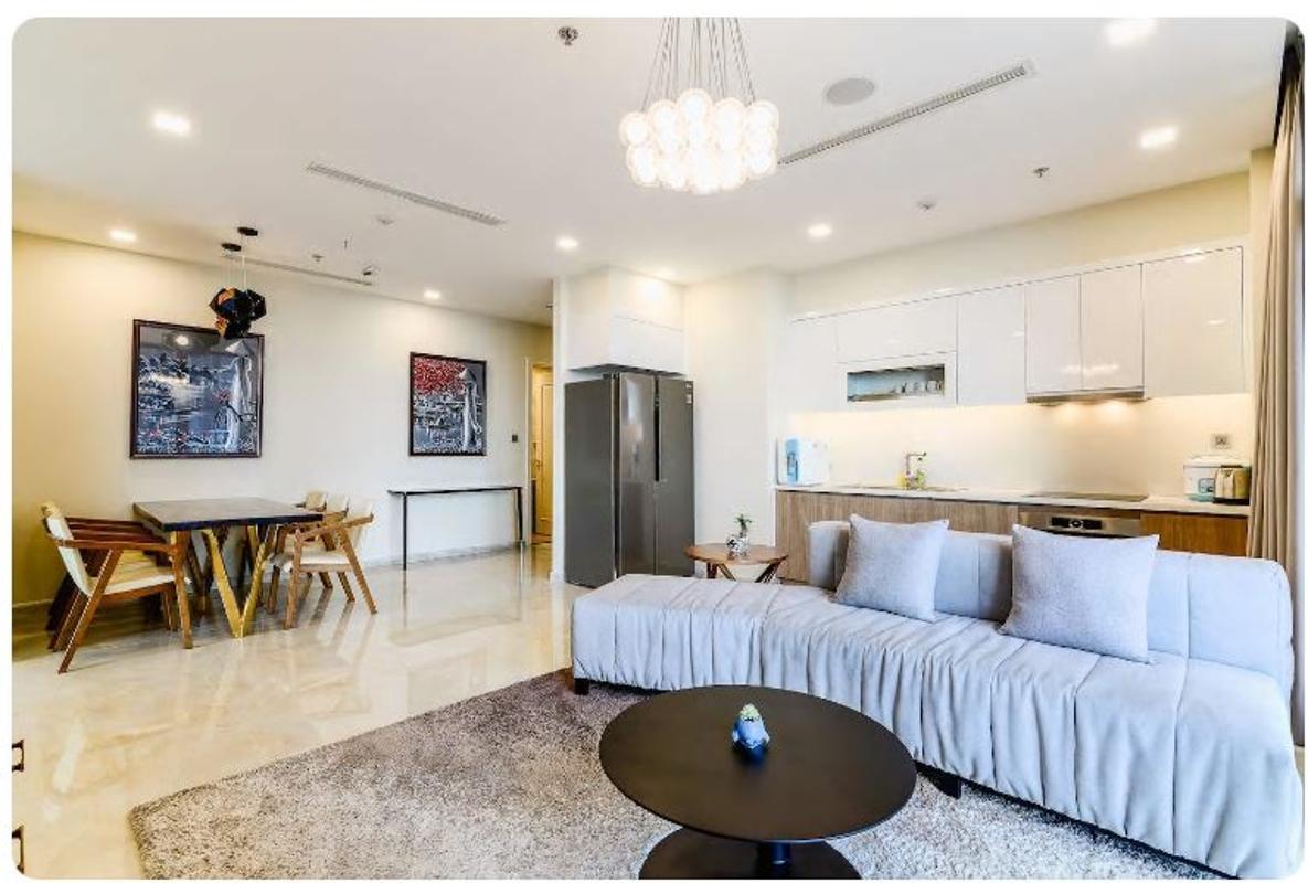 13 Bán căn hộ Vinhomes Golden River 2PN, tháp The Aqua 1, nội thất cơ bản, view sông và Landmark 81