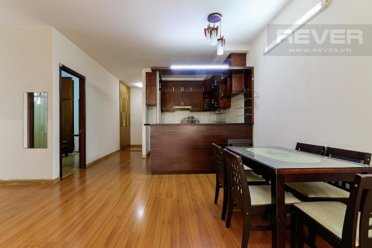 Phòng Ăn & Bếp Căn hộ Orient Apartment tầng thấp, 2PN, nội thất cơ bản