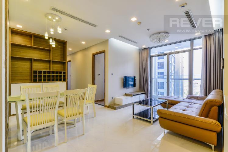 Tổng Quan Căn hộ Vinhomes Central Park 3 phòng ngủ tầng cao P7 view sông