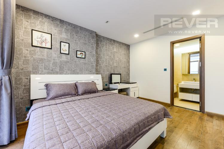 Phòng ngủ 1 Căn hộ Vinhomes Central Park tầng cao, Park 3, 3 phòng ngủ, view sông.