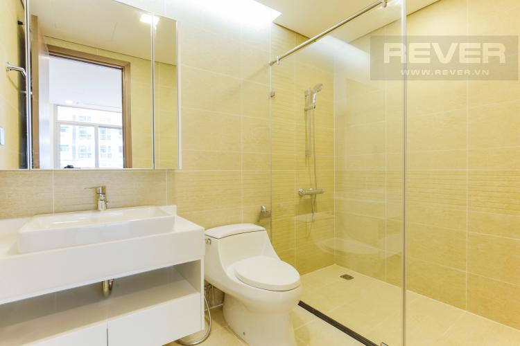 Phòng Tắm 2 Căn hộ Vinhomes Central Park tầng trung Park 2 mới bàn giao, view sông thoáng mát